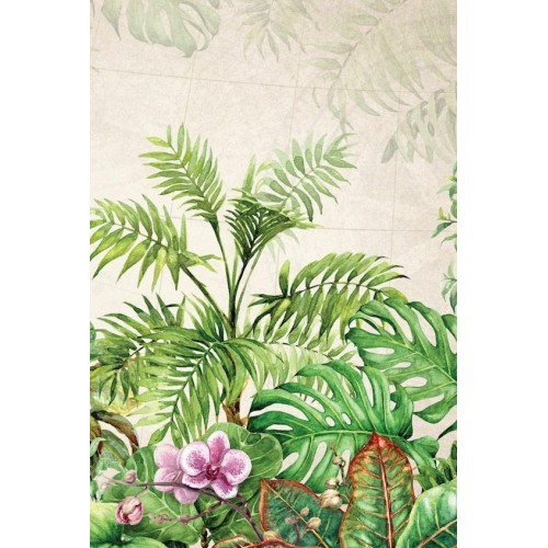 Exotic Foliage I Canvas Wall Art/Small