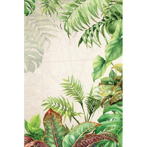 Exotic Foliage II Canvas Wall Art/Small