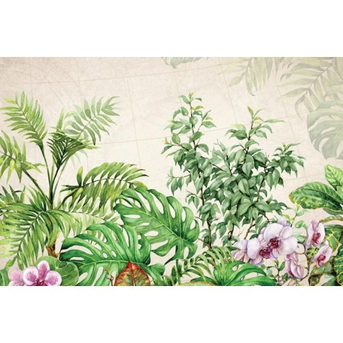 Exotic Foliage III Canvas Wall Art/Small