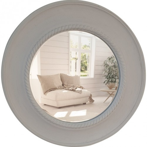 White wash moulding mirror