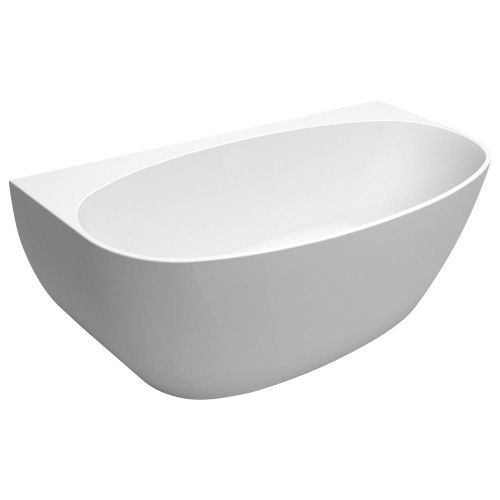 Fienza Keeto 1500 Back-to-wall Acrylic Bath