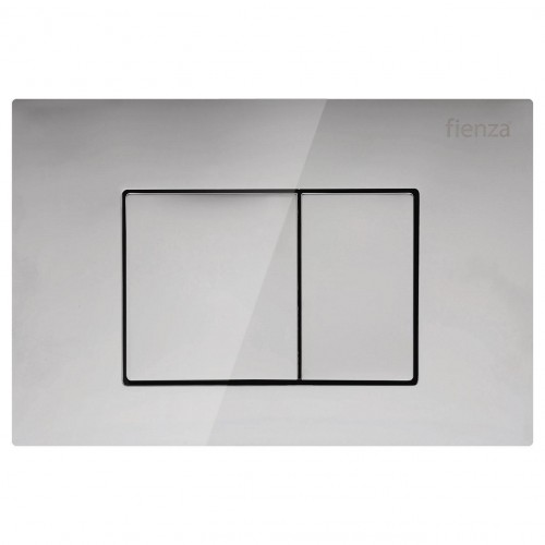 R&T Chrome, Square Button Flush Plate