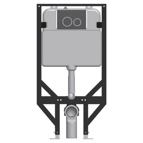 R&T In-Wall Cistern for Wall-Hung Pan