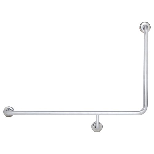 Fienza Care 90° Left-Hand Grab Rail, 960 x 600mm