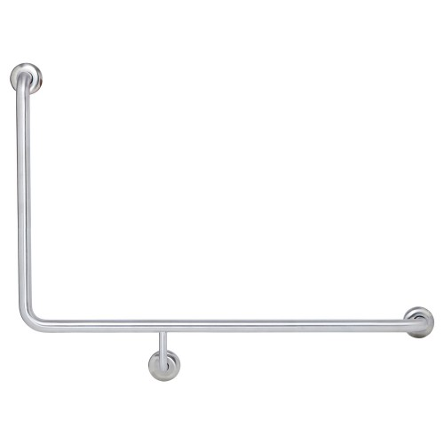 Fienza Care 90° Right-Hand Grab Rail, 960 x 600mm