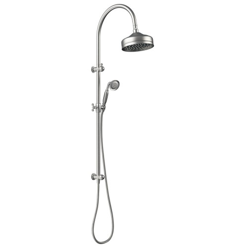 Fienza Lilian Multifunction Rail Shower, Brushed Nickel