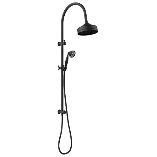 Fienza Lilian Multifunction Rail Shower, Matte Black