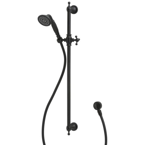 Fienza Lilian Rail Shower, Matte Black