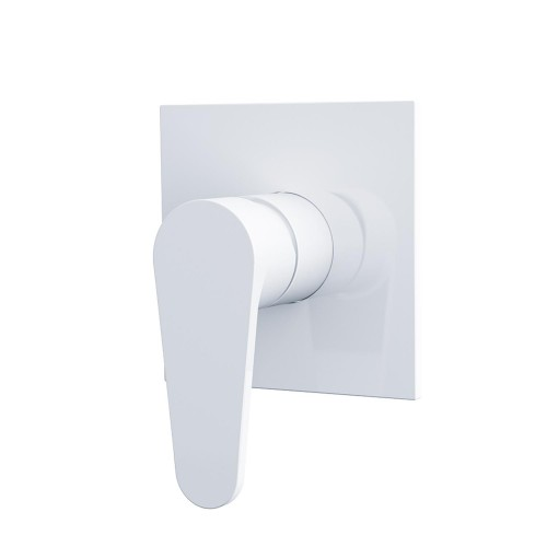 Nero Victor Shower Mixer White