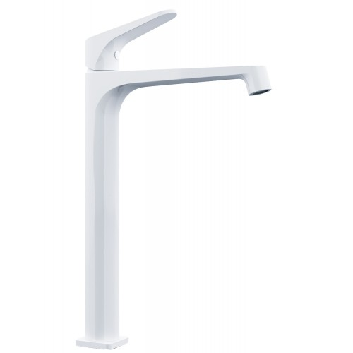 Nero Victor Tall Basin Mixer White