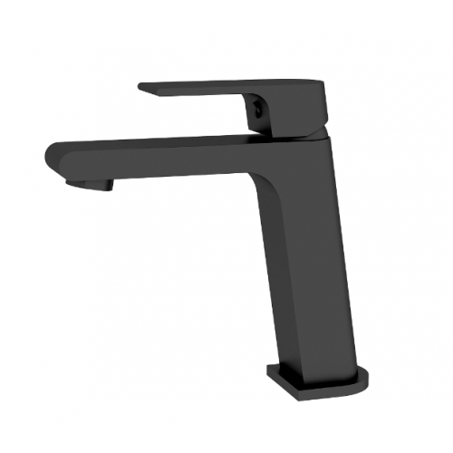 Nero Vitra Basin Mixer Black
