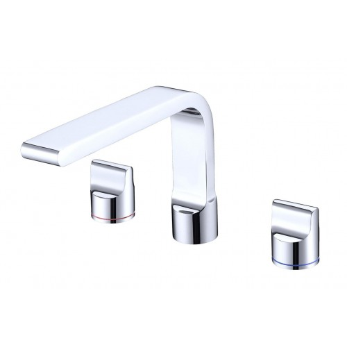 Nero Pearl Basin Set Chrome