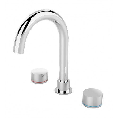 Nero Kara Basin Set Chrome