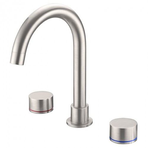 Nero Kara Basin Set Brushed Nickel