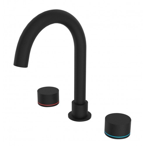 Nero Kara Basin Set Matte Black