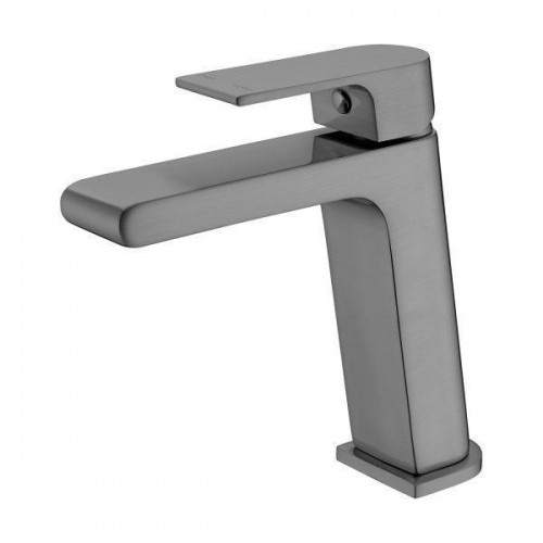 Nero Vitra Basin Mixer Gun Metal Grey