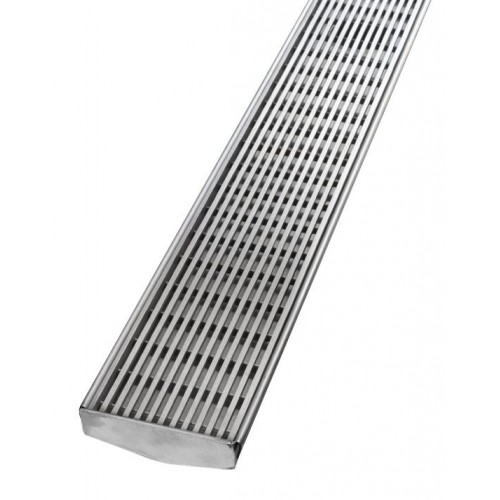 Phoenix V Channel Heelguard Floor Drain 75/1500mm/ Outlet 65mm
