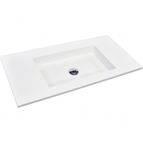 Fienza Jackson 900 Solid Surface Vanity Top