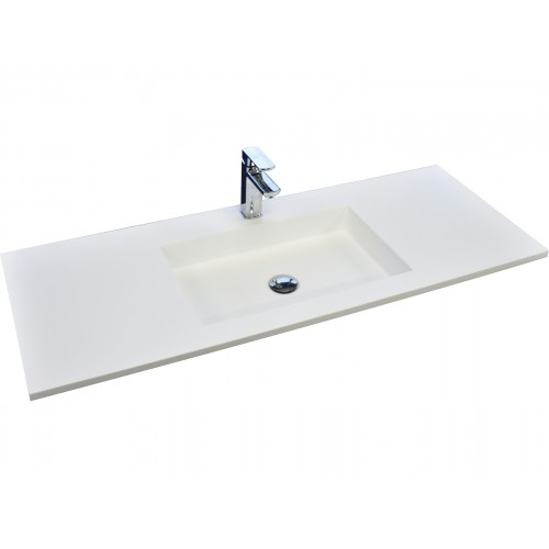 Fienza Jackson 1200 Solid Surface Vanity Top
