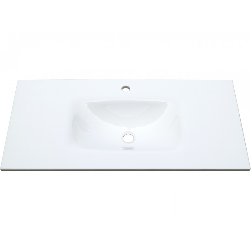 Mambo Phoenix Stone 900 Tempered Glass Basin Top