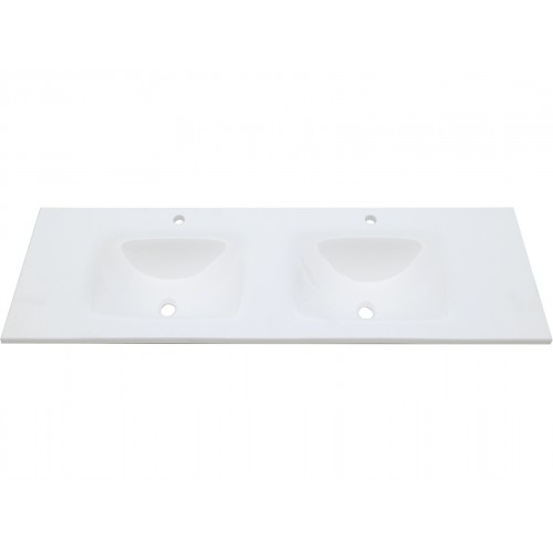 Mambo Phoenix Stone 1500 Double Bowl Tempered Glass Basin Top