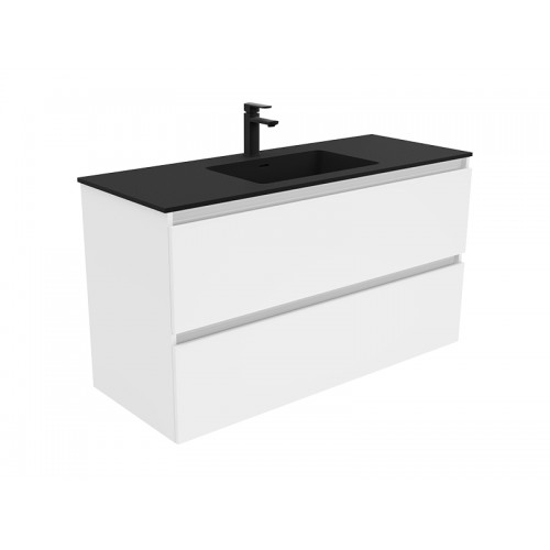 Montana 1200 Solid Surface Top Quest Wall Hung Vanity