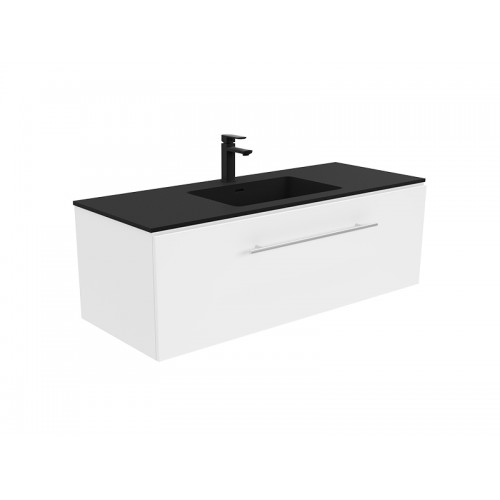 Montana 1200 Solid Surface Top Manu Wall Hung Cabinet