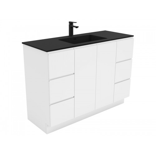 Montana 1200 Solid Surface Top Fingerpull Cabinet/Kickboard