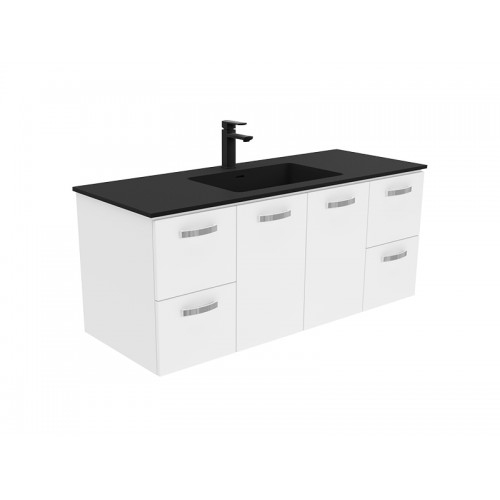 Montana 1200 Solid Surface Top Universal Wall-Hung Cabinet