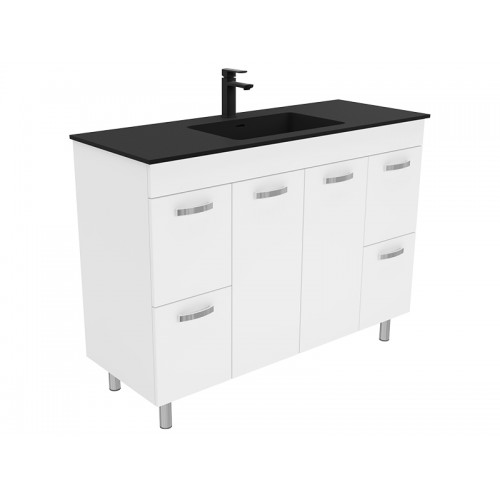 Montana 1200 Solid Surface Top Universal Kabinet with Feet