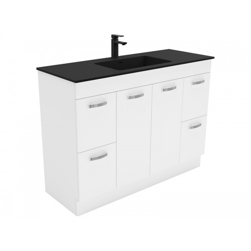 Montana 1200 Solid Surface Top Universal Cabinet/Kickboard
