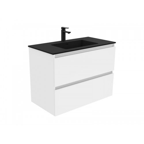 Montana 900 Solid Surface Top Quest Wall Hung Cabinet