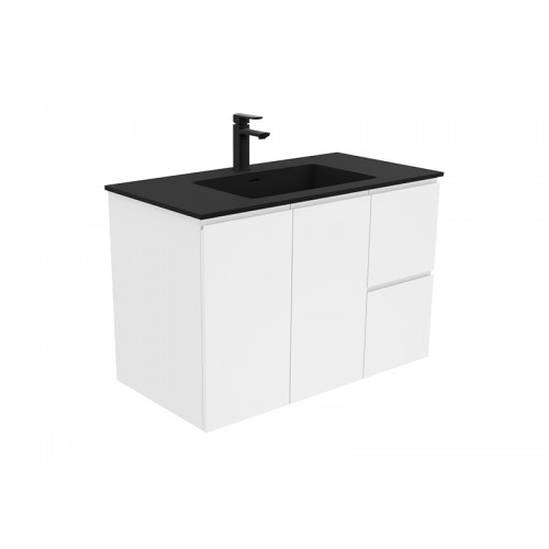 Montana 900 Solid Surface Top Fingerpull Wallhung Cabinet