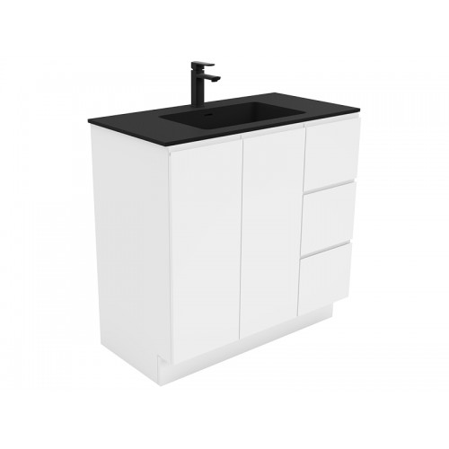 Montana 900 Solid Surface Top Fingerpull Cabinet/Kickboard
