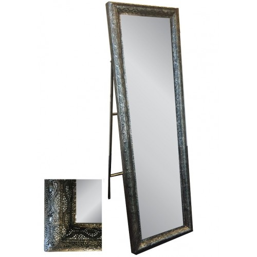 Interlace Liquorice Freestanding Mirror