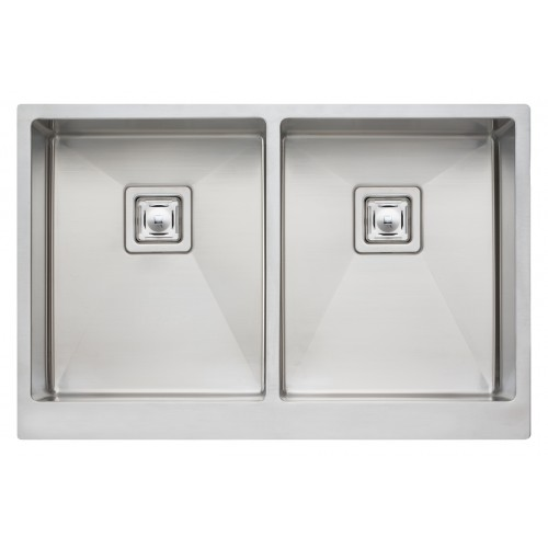 Oliveri Professional Series Double Bowl Undermount Butler Sink