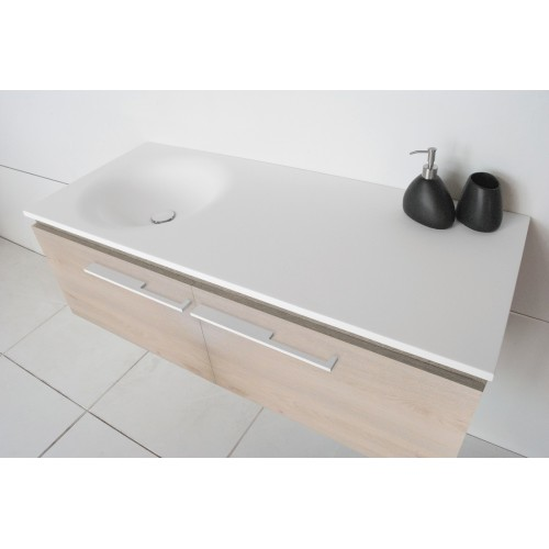 ADP Snow 1200 Wall Hung Vanity