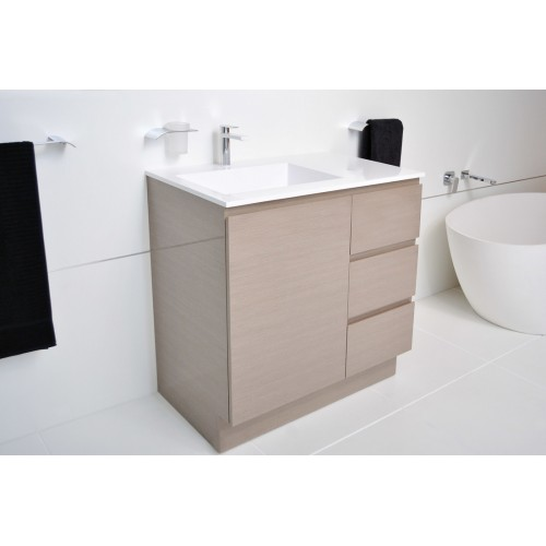 ADP Summer 900 Trio Vanity with Offset Bowl