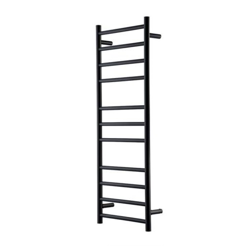 Heirloom Genesis Nero 1220 Slimline Heated Towel Rail
