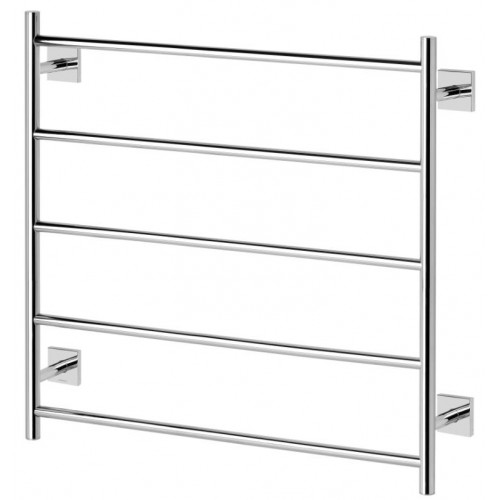 Phoenix Radii Towel Ladder Square Face Plate 750 x 740mm Chrome