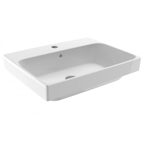 JohnsonSuisse Gemelli 550 Rectangular Semi-Inset Counter Top Vessel