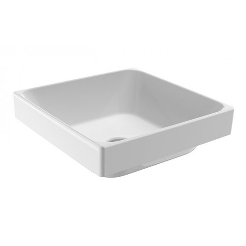 JohnsonSuisse Gemelli Square Semi-Inset Counter Top Vessel