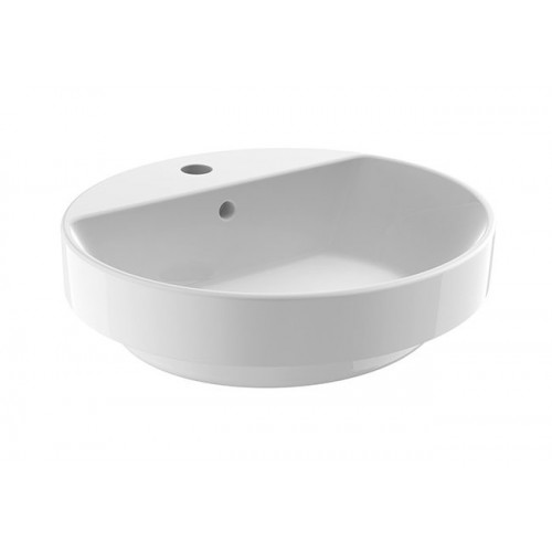 JohnsonSuisse Gemelli Oval Semi-Inset Counter Top Vessel