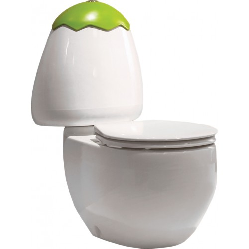 JohnsonSuisse Egg Junior Close Coupled Toilet Suite