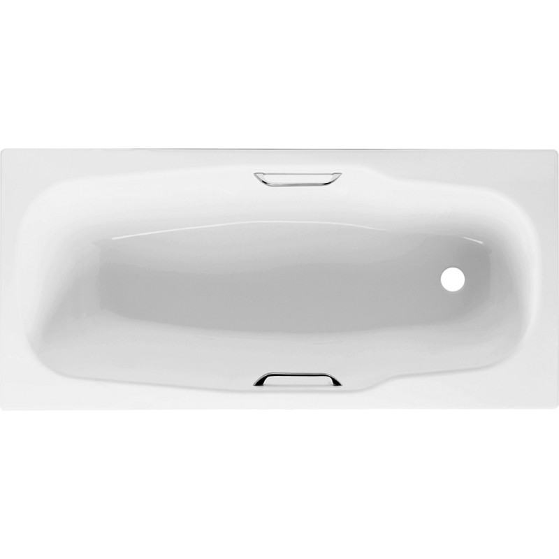 Johnson Suisse Atlantica 1700 Enameled Steel Bath