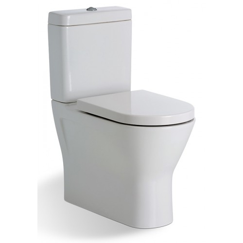 RAK Resort Rimless Back to Wall Toilet Suite