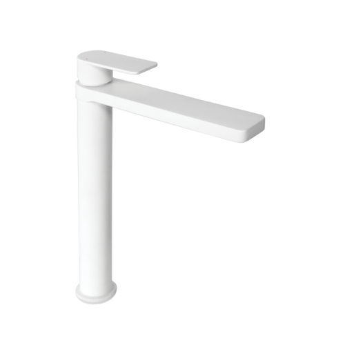 Jamie J Cosmopolitan Tower Basin Mixer Matte White