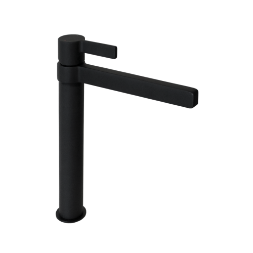 Jamie J Martini Tower Basin Mixer Matte Black