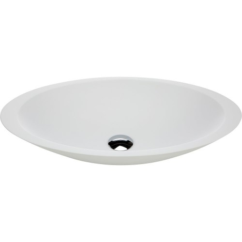 Fienza Bahama White Stone Above Counter Basin