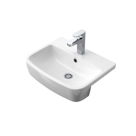 Buy Ceramic-Semi-Recessed-Basin
